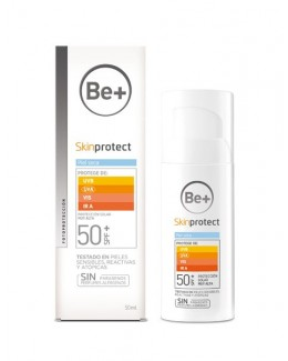 BE+ SKIN PROTECT PIEL SECA SPF50+ 50 ML