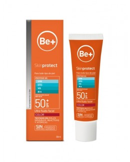 BE+ SKIN PROTECT ULTRAFLUIDO FACIAL SPF50+ COLOR