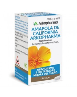 ARKOCAPSULAS AMAPOLA DE CALIFORNIA 240 MG 50 CAP