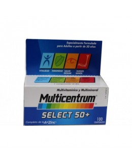 MULTICENTRUM SELECT 50+ 100 COMPRIMIDOS