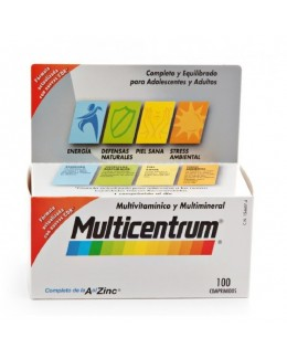 MULTICENTRUM CON LUTEINA 100 COMP