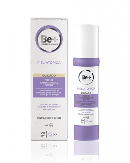 BE+ ATOPIA CREMA ANTIARRUGAS SPF 20 40 ML