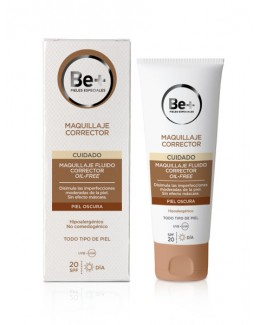 BE+ MAQUILLAJE CORRECTOR OIL FREE SPF 20 OSCURO