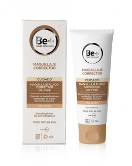BE+ MAQUILLAJE CORRECTOR OIL FREE SPF 20 CLARO