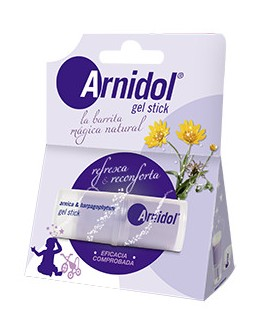 ARNIDOL  GEL STICK MORADOS Y GOLPES 15 ML