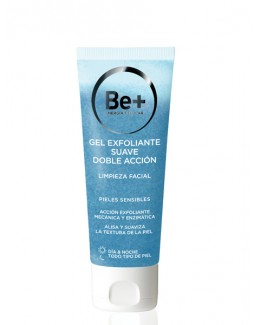 BE+ LIMPIEZA FACIAL GEL EXFOLIANTE 75 ML