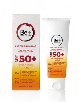 BE+ FOTOPROTECTOR SPF 50+ EMULSION FACIAL PROTEC
