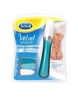 DR SCHOLL VELVET SMOOTH LIMA ELECTRONICA UÑAS
