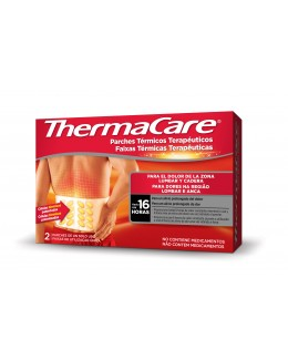 THERMACARE ZONA LUMBAR Y CADERA PARCHES 2UD