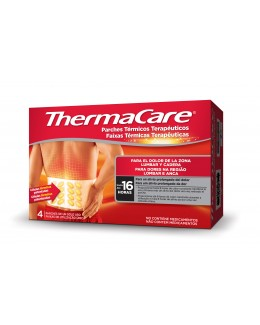THERMACARE ZONA LUMBAR Y CADERA PARCHES 4UD