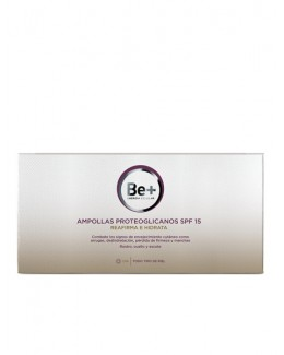 BE+ PROTEOGLICANOS SPF 15 AMPOLLAS 2 ML